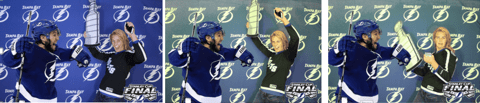 Game 1 of the Stanley Cup Finals GIF Photo Booth