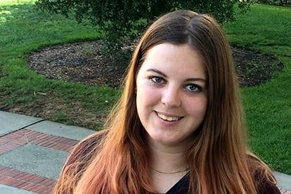 Jordan Davis, a Berkeley senior student