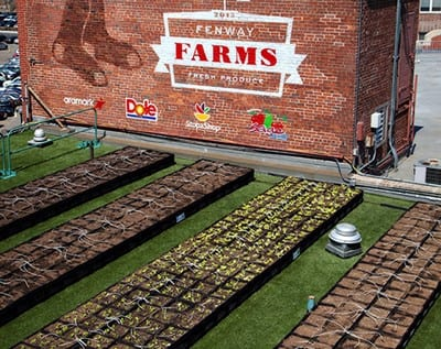 Fenway Farms, presented by Stop & Shop, Dole, Sage Fruit, and Aramark.