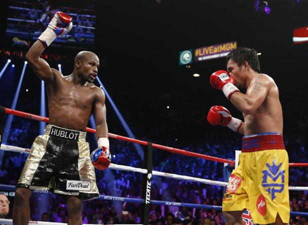 Mayweather VS Pacquiao fight