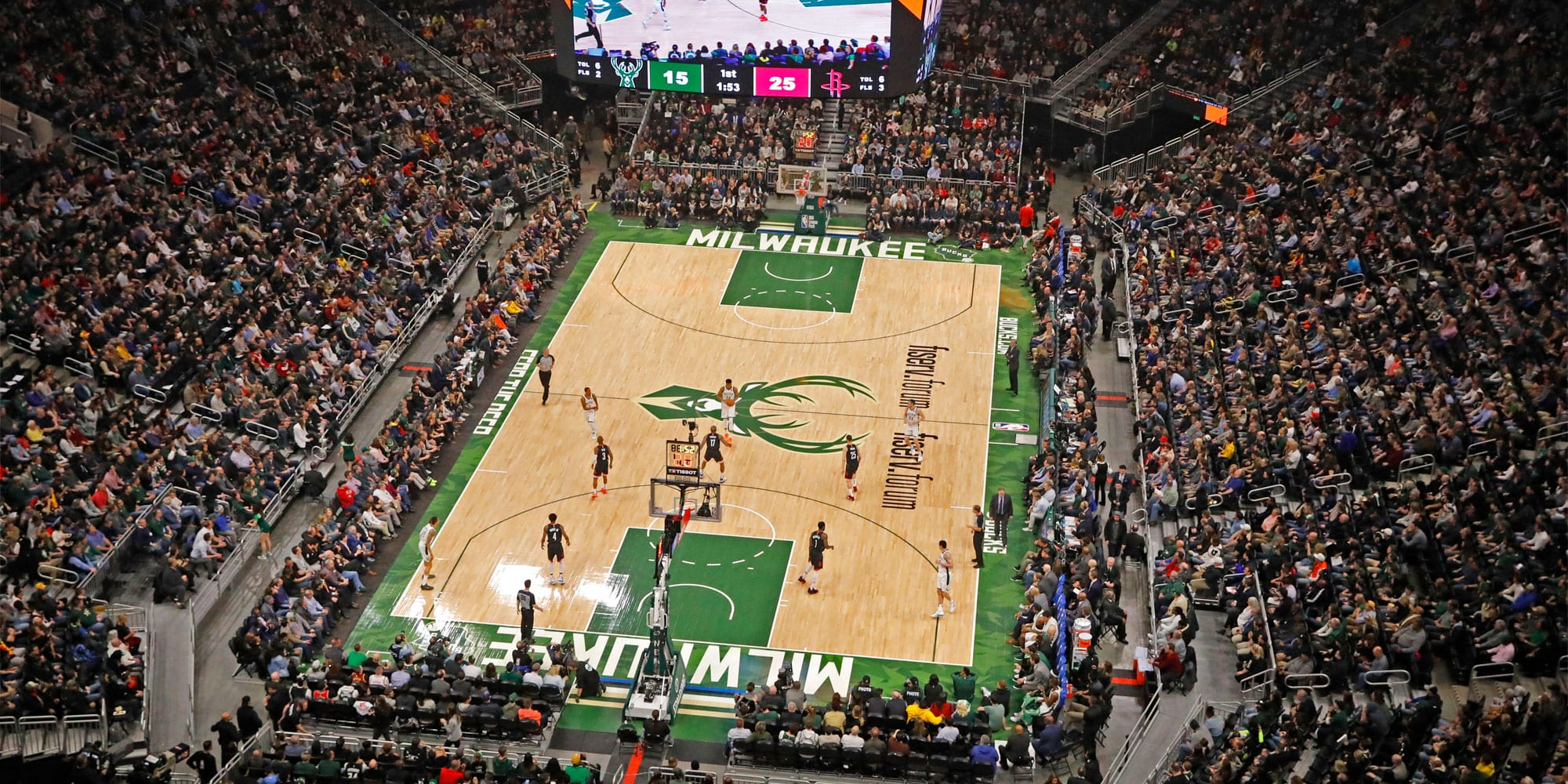 milwaukee bucks stadium
